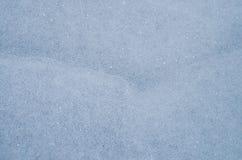 μπλε πάγος το χειμώνα στο κρύο καιρό με μια όμορφη σύσταση Στοκ Εικόνες