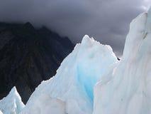 μπλε πάγος Στοκ εικόνες με δικαίωμα ελεύθερης χρήσης