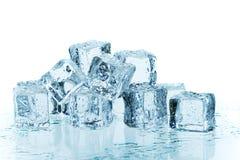 μπλε πάγος Στοκ Φωτογραφία