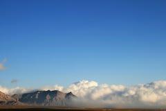 μπλε πέρα από τη θύελλα ουρανού Στοκ Εικόνες