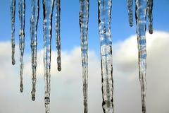 μπλε παγάκια Στοκ φωτογραφίες με δικαίωμα ελεύθερης χρήσης