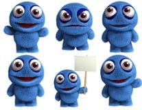 Μπλε παιχνίδι Στοκ Εικόνες