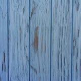 Μπλε παλαιά ξύλινη σύσταση σανίδων, υπόβαθρο, ταπετσαρία, πρότυπο Στοκ Εικόνες