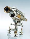 μπλε παλαιό τηλεσκόπιο α& Στοκ Φωτογραφίες