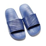 Μπλε παντόφλες στοκ εικόνα