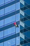 μπλε παράθυρο πλυντηρίων &pi Στοκ Εικόνες