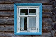 μπλε παράθυρο Στοκ φωτογραφία με δικαίωμα ελεύθερης χρήσης