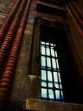 μπλε παράθυρο Στοκ Φωτογραφίες