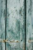 μπλε παραθυρόφυλλο grunge Στοκ εικόνες με δικαίωμα ελεύθερης χρήσης