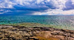 μπλε παραλιών δροσερό Στοκ φωτογραφία με δικαίωμα ελεύθερης χρήσης
