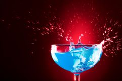 μπλε παφλασμός στοκ εικόνες με δικαίωμα ελεύθερης χρήσης