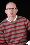 μπλε περιστασιακό eyed άτομο στοκ φωτογραφίες με δικαίωμα ελεύθερης χρήσης