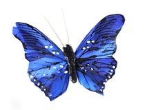 μπλε πεταλούδα Στοκ εικόνα με δικαίωμα ελεύθερης χρήσης