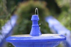μπλε πηγή Στοκ εικόνα με δικαίωμα ελεύθερης χρήσης