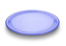 μπλε πιάτο Στοκ Φωτογραφίες