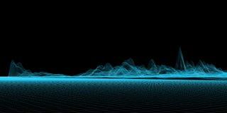 μπλε πλέγμα Στοκ Εικόνες