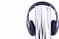 μπλε πλήκτρο ακουστικών & Στοκ Φωτογραφίες