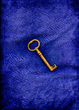 μπλε πλήκτρο Στοκ εικόνα με δικαίωμα ελεύθερης χρήσης