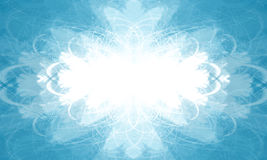 μπλε πλαίσιο οριζόντιο διανυσματική απεικόνιση