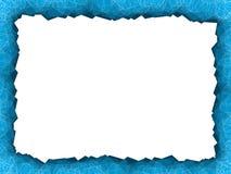 Μπλε πλαίσιο πολυγώνων Στοκ εικόνες με δικαίωμα ελεύθερης χρήσης