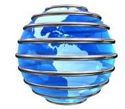 μπλε πλανήτης που παγιδ&epsilo στοκ εικόνες με δικαίωμα ελεύθερης χρήσης
