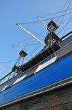 μπλε πλώρη Στοκ Εικόνες