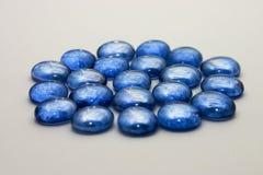 μπλε πολύτιμοι λίθοι Στοκ φωτογραφία με δικαίωμα ελεύθερης χρήσης