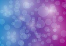 Μπλε πορφυρός Ιστός εμβλημάτων υποβάθρου φυσαλίδων απεικόνιση αποθεμάτων
