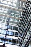 μπλε που χτίζει το σύγχρονο γραφείο Στοκ Εικόνες