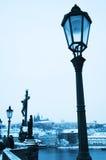 μπλε Πράγα Στοκ Εικόνα