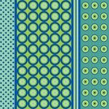 μπλε πρότυπο άνευ ραφής διανυσματική απεικόνιση