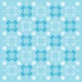 μπλε πρότυπο ανασκόπησης Στοκ Εικόνες