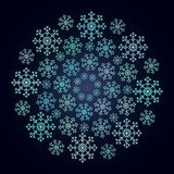 μπλε πρότυπο απλό Στοκ Φωτογραφίες