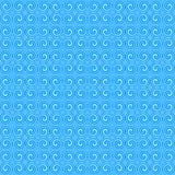 μπλε πρότυπο διακοσμήσεων απεικόνιση αποθεμάτων