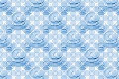 μπλε πρότυπο ηλεκτρονικ& Στοκ Φωτογραφία