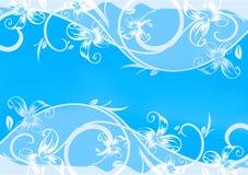 μπλε πρότυπο καρτών Στοκ εικόνες με δικαίωμα ελεύθερης χρήσης