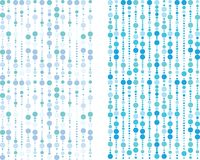 μπλε πρότυπο φυσαλίδων Στοκ εικόνα με δικαίωμα ελεύθερης χρήσης