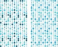 μπλε πρότυπο φυσαλίδων Στοκ φωτογραφίες με δικαίωμα ελεύθερης χρήσης