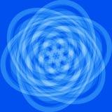 μπλε πρότυπο Στοκ Εικόνες