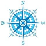 μπλε πυξίδα Στοκ φωτογραφία με δικαίωμα ελεύθερης χρήσης