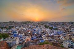 Μπλε πόλη του Jodhpur Στοκ εικόνες με δικαίωμα ελεύθερης χρήσης