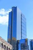 Μπλε πύργος γυαλιού στο Σιάτλ Στοκ Φωτογραφία