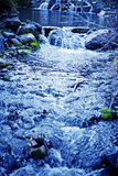 μπλε ρεύμα στοκ φωτογραφία