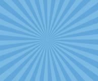 Μπλε ριγωτό υπόβαθρο τέχνης Σύγχρονο υπόβαθρο ακτίνων λωρίδων Στοκ Εικόνα