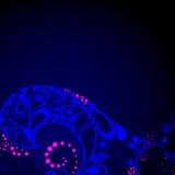 μπλε ροζ ανασκόπησης Απεικόνιση αποθεμάτων