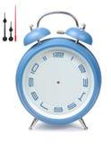 μπλε ρολόι συναγερμών Στοκ φωτογραφία με δικαίωμα ελεύθερης χρήσης