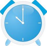 μπλε ρολόι συναγερμών Στοκ εικόνες με δικαίωμα ελεύθερης χρήσης