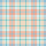 μπλε ρόδινο plaid Στοκ φωτογραφίες με δικαίωμα ελεύθερης χρήσης