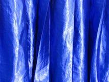 μπλε σατέν Στοκ Εικόνες