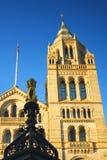 μπλε σαφής εθνικός ουρανός μουσείων του Λονδίνου ιστορίας Στοκ Φωτογραφία
